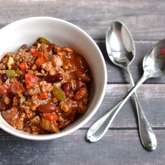 Is Turkey Chili Healthy  Healthy Turkey Chili A Pinch of Healthy