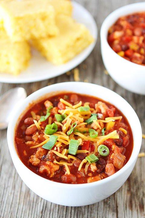 Is Turkey Chili Healthy  Slow Cooker Turkey Chili Recipe