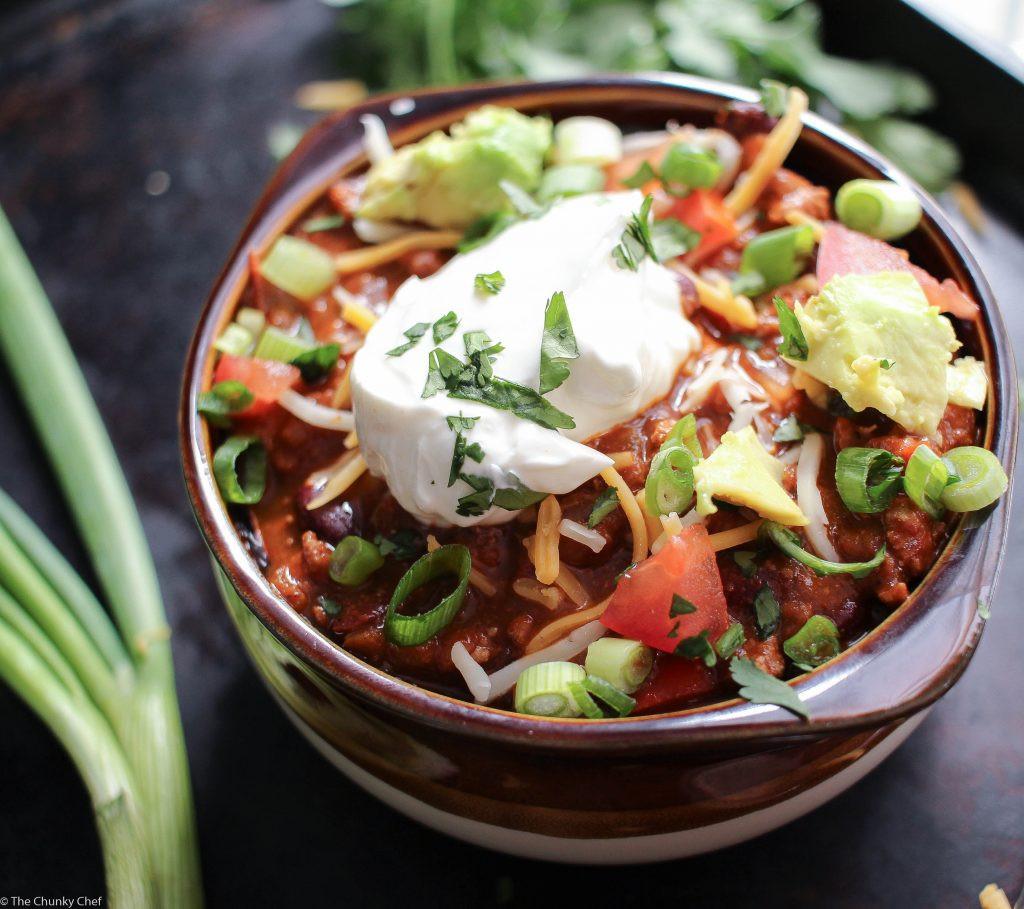 Is Turkey Chili Healthy  Heart Healthy Turkey Chili The Chunky Chef