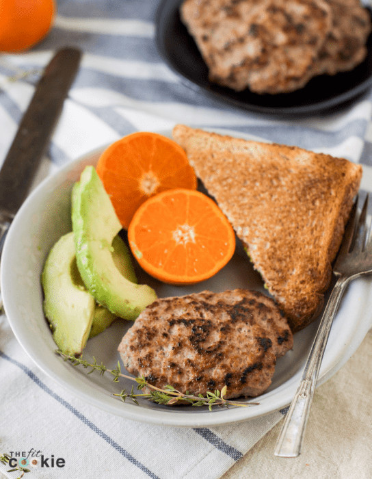 Is Turkey Sausage Healthy  Healthy Homemade Turkey Breakfast Sausage Paleo • The
