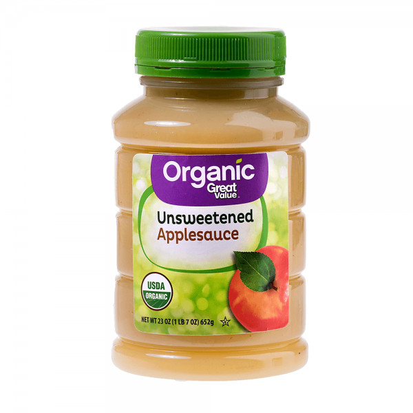 Is Unsweetened Applesauce Healthy  Great Value Organic Unsweetened Applesauce – Healthy Jasmine