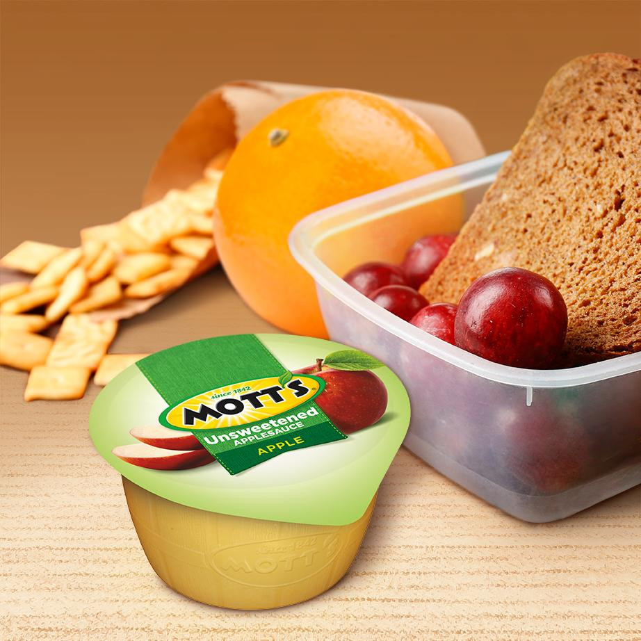 Is Unsweetened Applesauce Healthy  Mott s Unsweetened Applesauce 3 9 oz cups 36 count