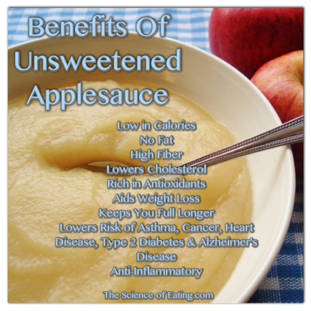 Is Unsweetened Applesauce Healthy  185 best Health images on Pinterest