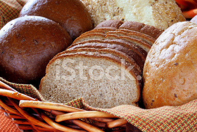 Is Whole Grain Bread Healthy  Assorted Healthy Whole Grain Breads stock photos