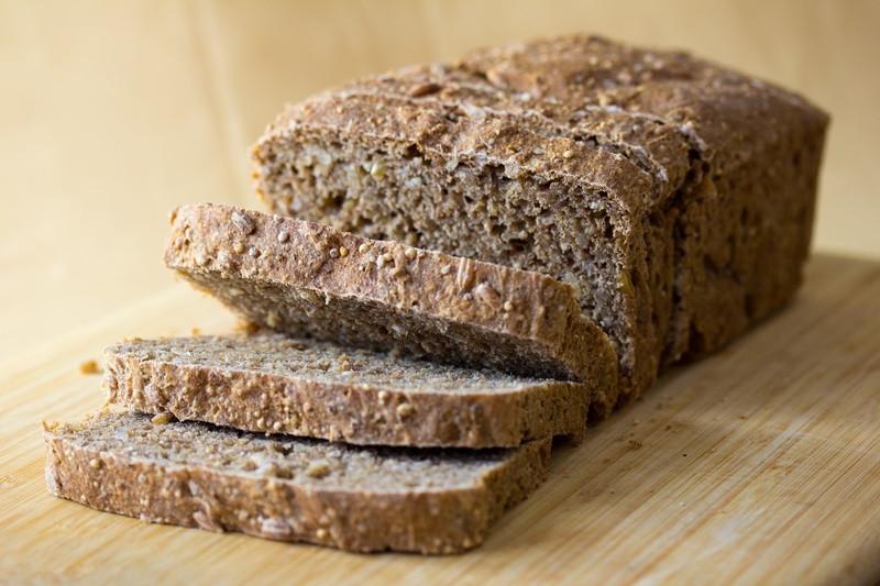 Is Whole Grain Bread Healthy  Vegan Nine Grain Whole Wheat Bread Veganbaking