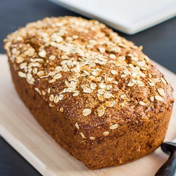 Is Whole Wheat Bread Healthy  Healthy Whole Wheat Banana Nut Bread Jo Cooks