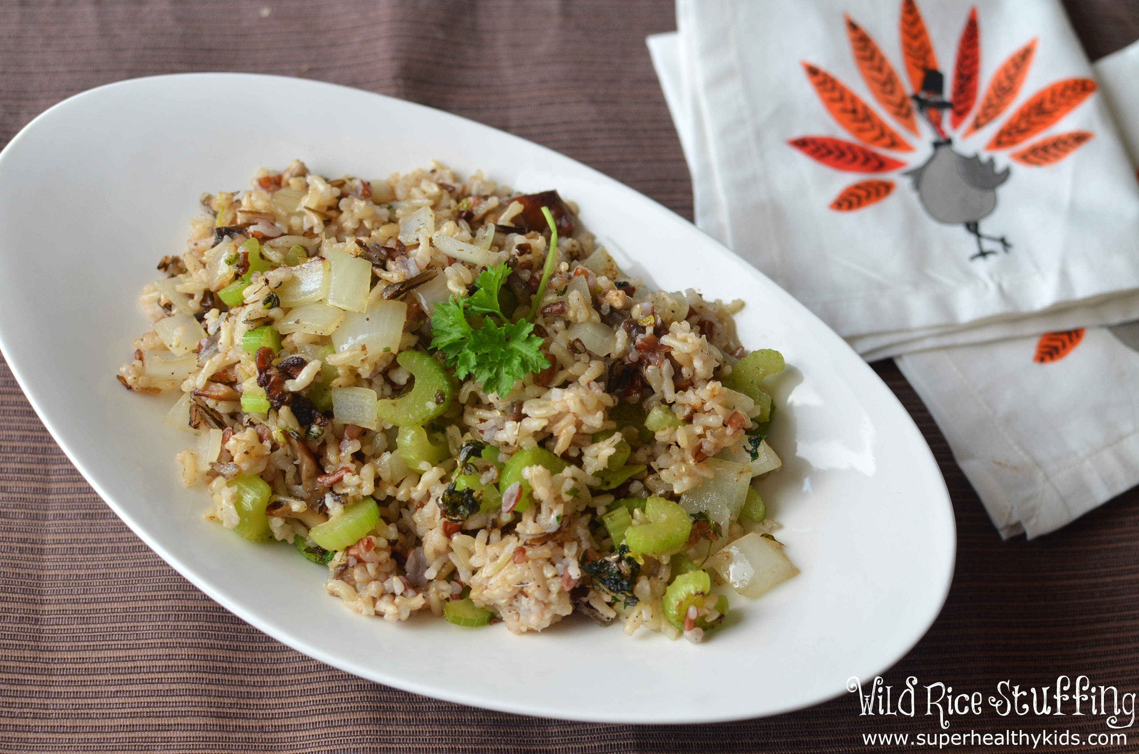 Is Wild Rice Healthy  Your plete Healthy Holiday Meal with Wild Rice Stuffing