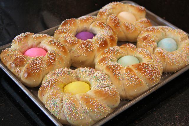 Italian Easter Bread  Catholic Cuisine Italian Easter Bread