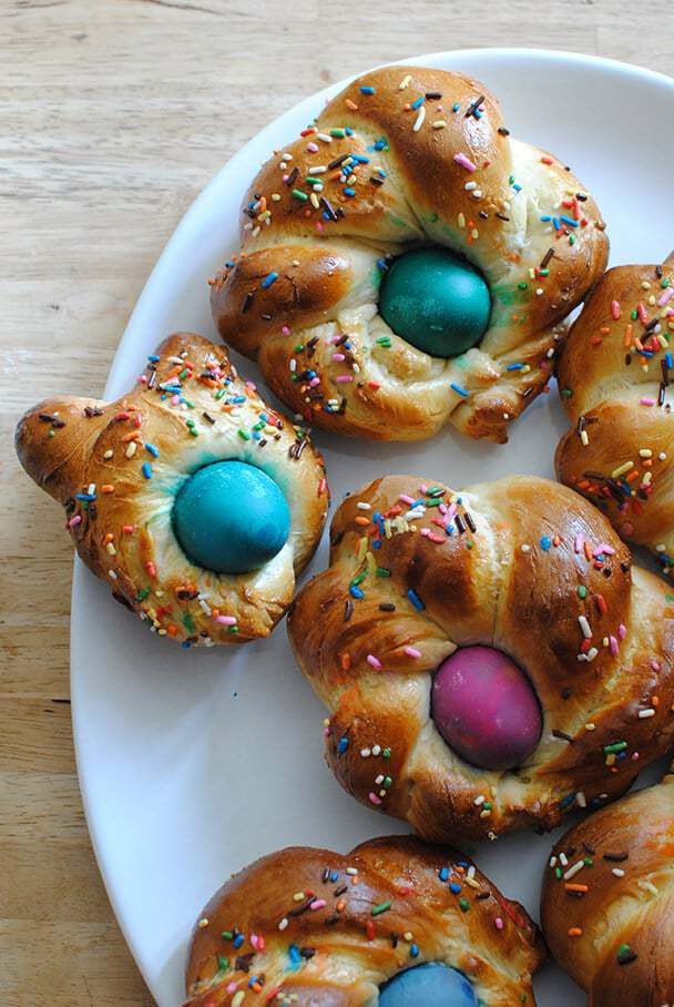 Italian Easter Bread With Eggs  Italian Easter Bread