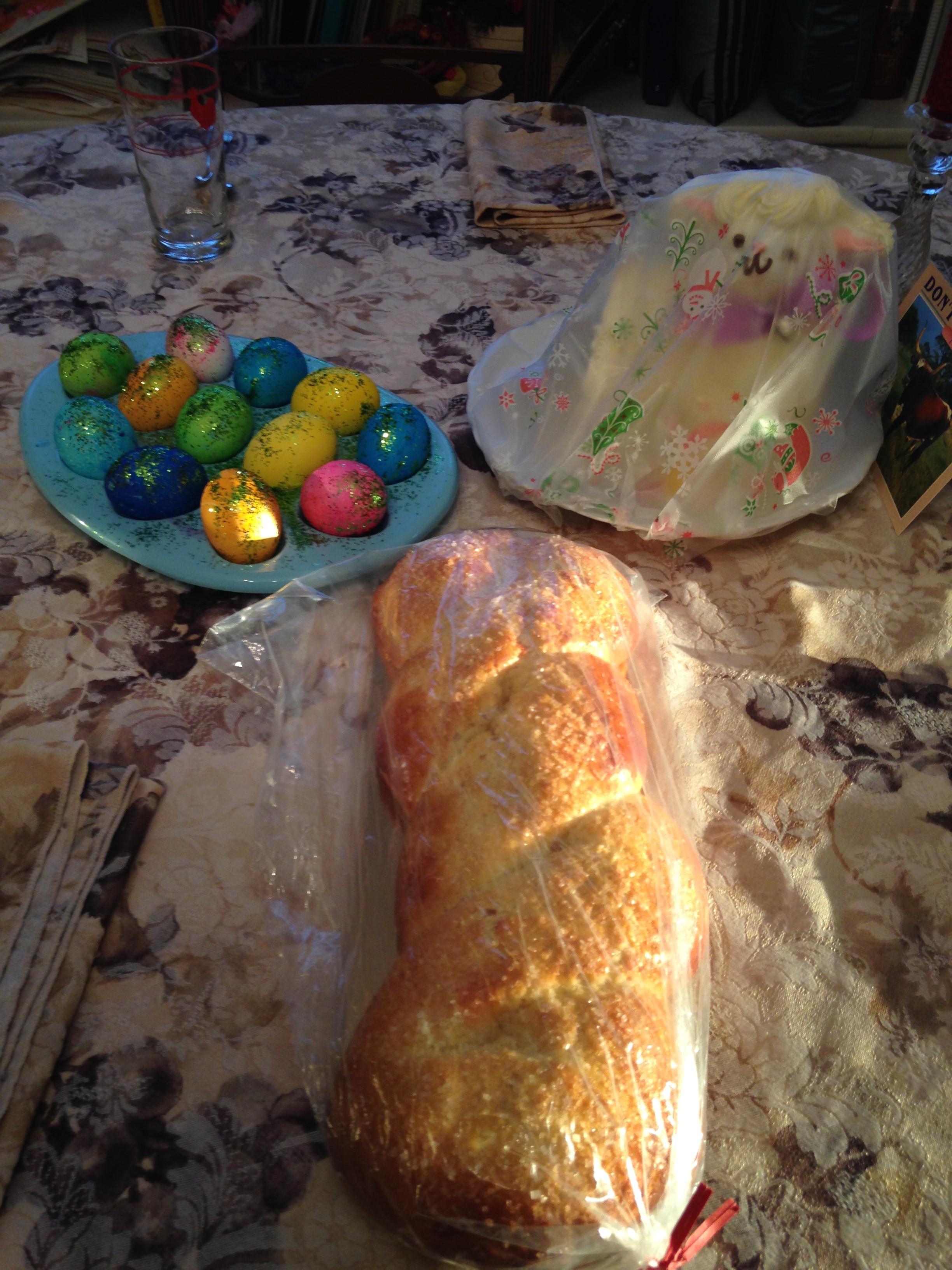 Italian Easter Bread With Hard Boiled Eggs  Mary Anna Violi s tangledpasta