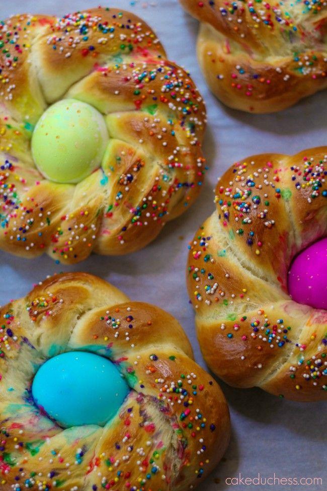 Italian Easter Bread With Hard Boiled Eggs  Pane di Pasqua Italian Easter Bread TwelveLoaves