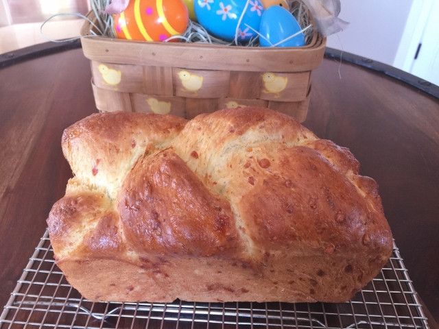 Italian Easter Bread With Meat And Cheese  Italian Easter Cheese Bread Crescia al Formaggio