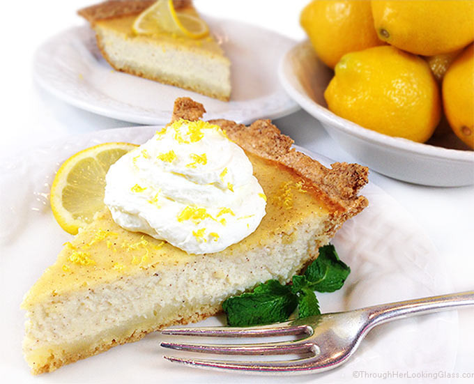 Italian Easter Dessert Recipes  Authentic Italian Ricotta Pie Through Her Looking Glass