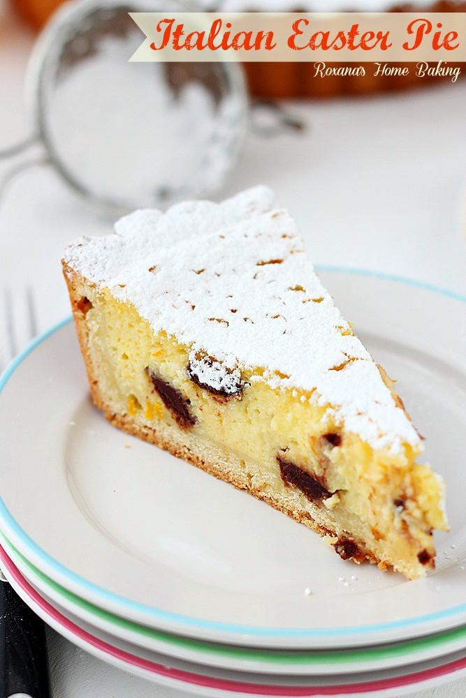 Italian Easter Dessert Recipes  Italian Easter Pie Chef in Training