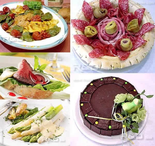 Italian Easter Dinner Menu  Italian colored Easter menu