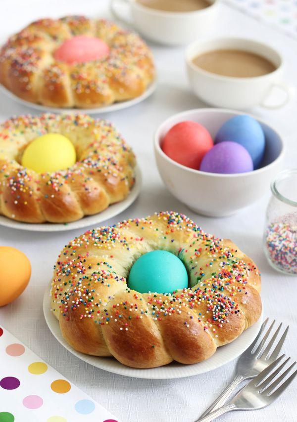 Italian Easter Dinner  Italian Easter Bread