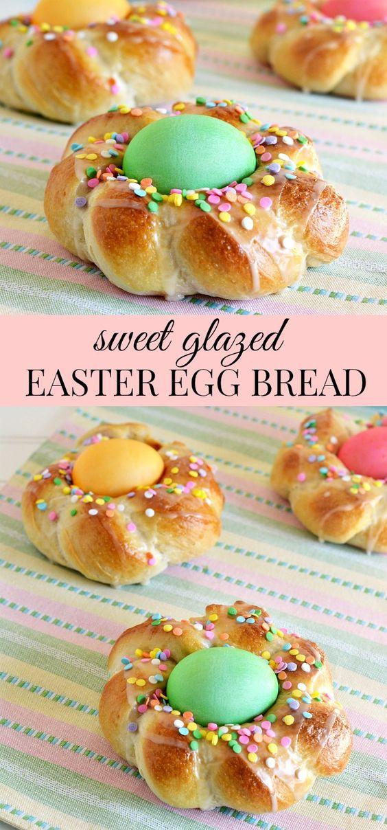 Italian Easter Egg Bread Recipe  Sweet The o jays and Bread recipes on Pinterest