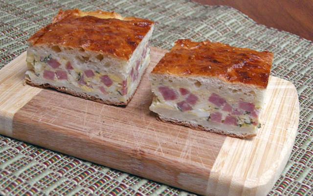 Italian Easter Ham Pie  ITALIAN EASTER PIE