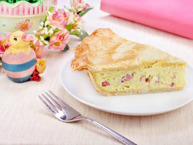 Italian Easter Ham Pie  Italian Easter Ham and Cheese Pie Recipe