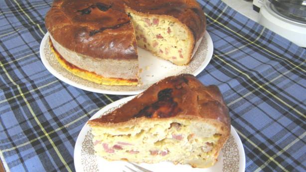Italian Easter Ham Pie  Italian Easter Pie Pizza Rustica Aka Ham Pie Recipe