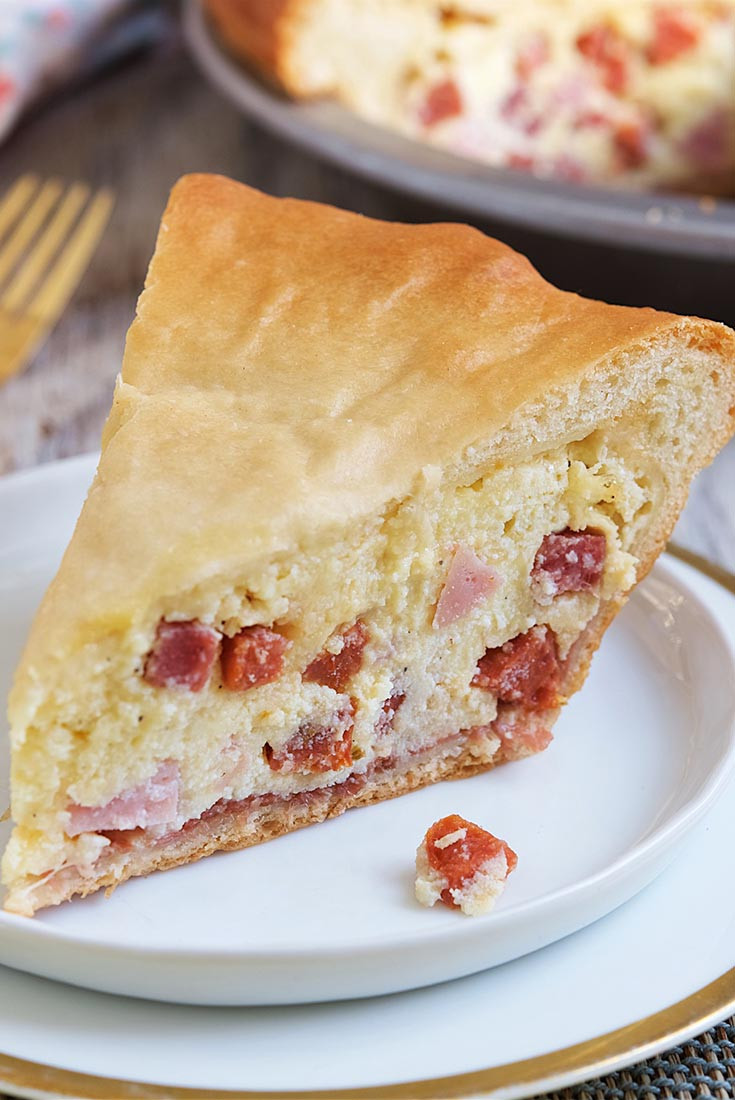 Italian Easter Pie Recipes  Italian Easter Meat Pie Recipe
