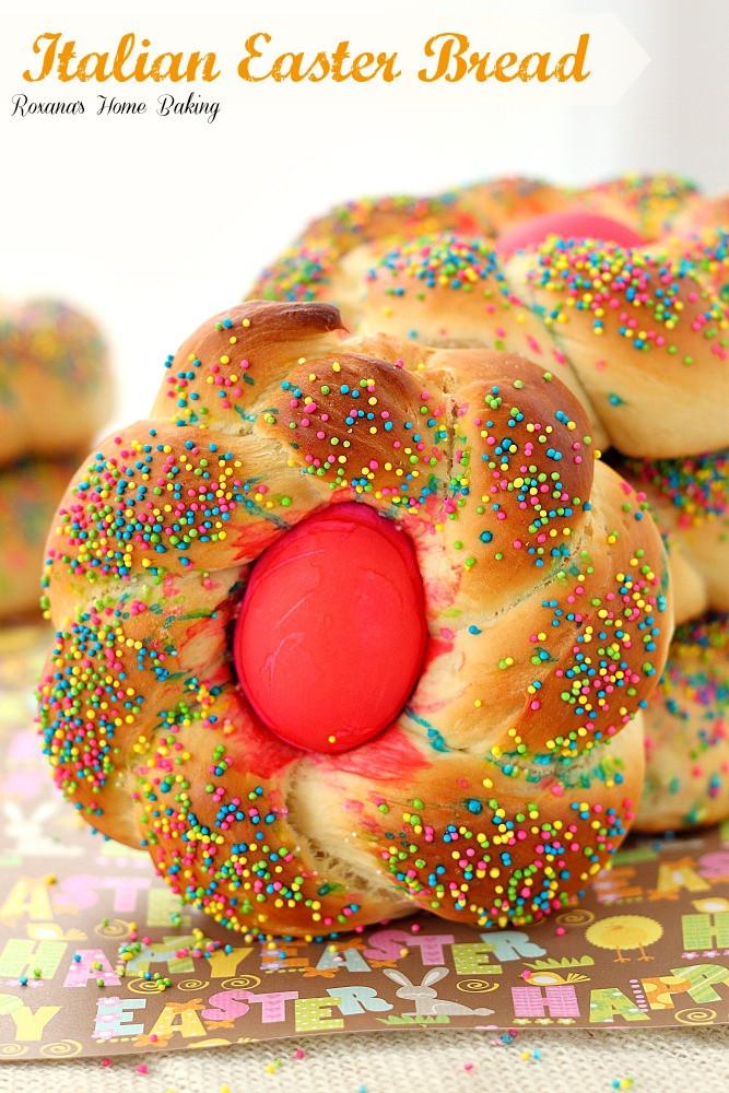 Italian Easter Sweet Bread Recipe  Pane di Pasqua Italian Easter bread recipe