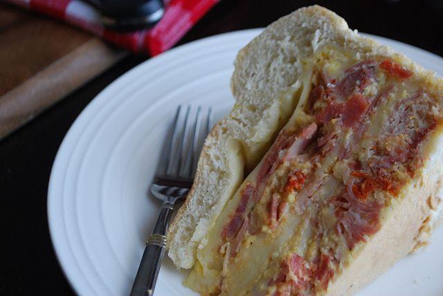 Italian Ham Pie Easter Recipe  Pizzagaina Italian Easter Ham Pie