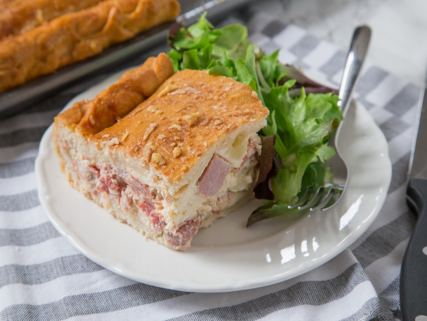 Italian Ham Pie Easter Recipe  Best Leftover Ham Recipes And Ideas Genius Kitchen