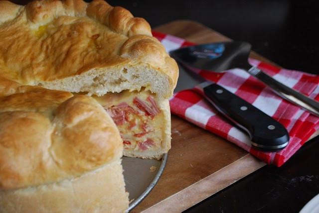 Italian Ham Pie Easter Recipe  Pizzagaina Italian Easter Ham Pie Always Order Dessert