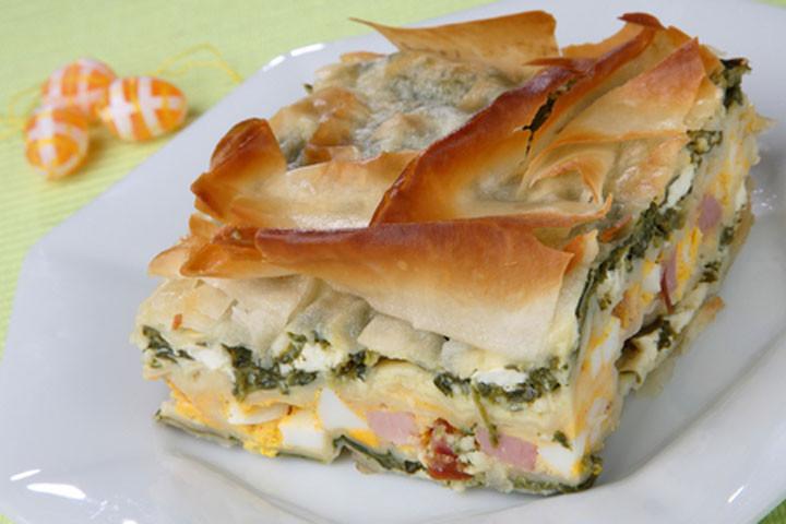 Italian Ham Pie Easter Recipe  Ham Pie Recipes CDKitchen