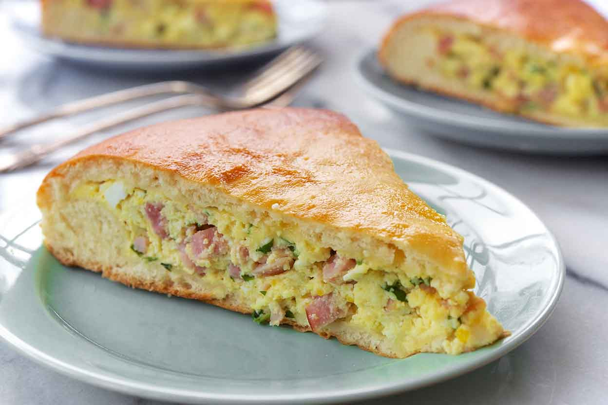 Italian Ham Pie Easter Recipe  Italian Easter Pie Recipe