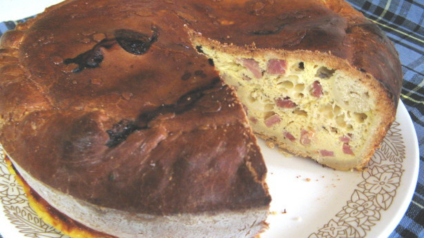 Italian Ham Pie Easter Recipe  Italian Easter Pie Pizza Rustica Aka Ham Pie Recipe