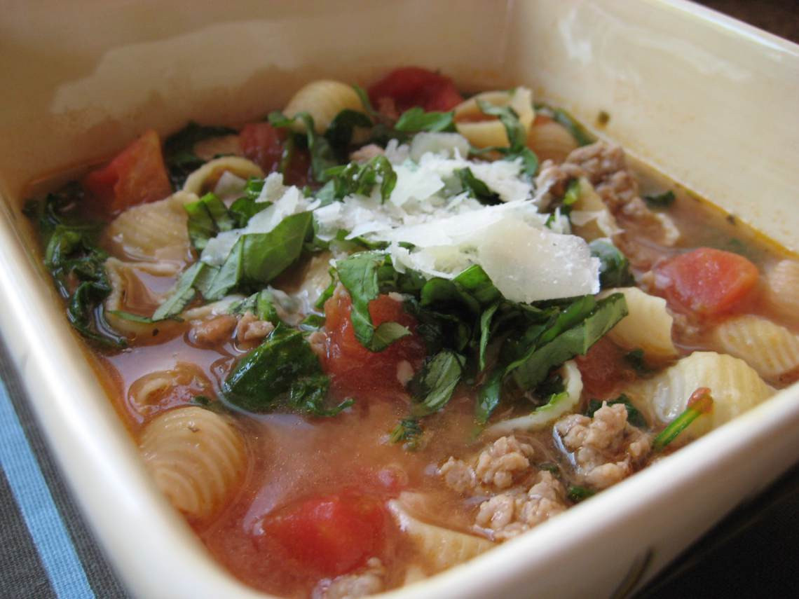 Italian Sausage Recipes Healthy  Recipe For Italian Sausage Soup II Glorious Soup Recipes