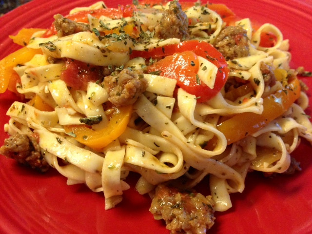 "Italian Sausage Recipes Healthy  Tasty and Mostly Healthy Recipes Saucy Italian ""Drunken"