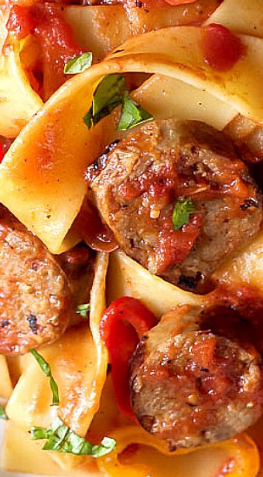 Italian Sausage Recipes Healthy  25 best ideas about Sausage and peppers on Pinterest