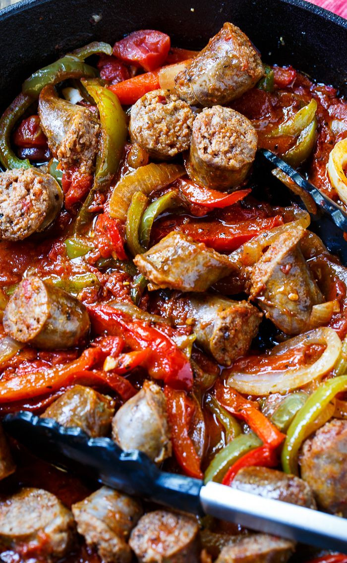 Italian Sausage Recipes Healthy  Italian Sausage and Peppers Recipe