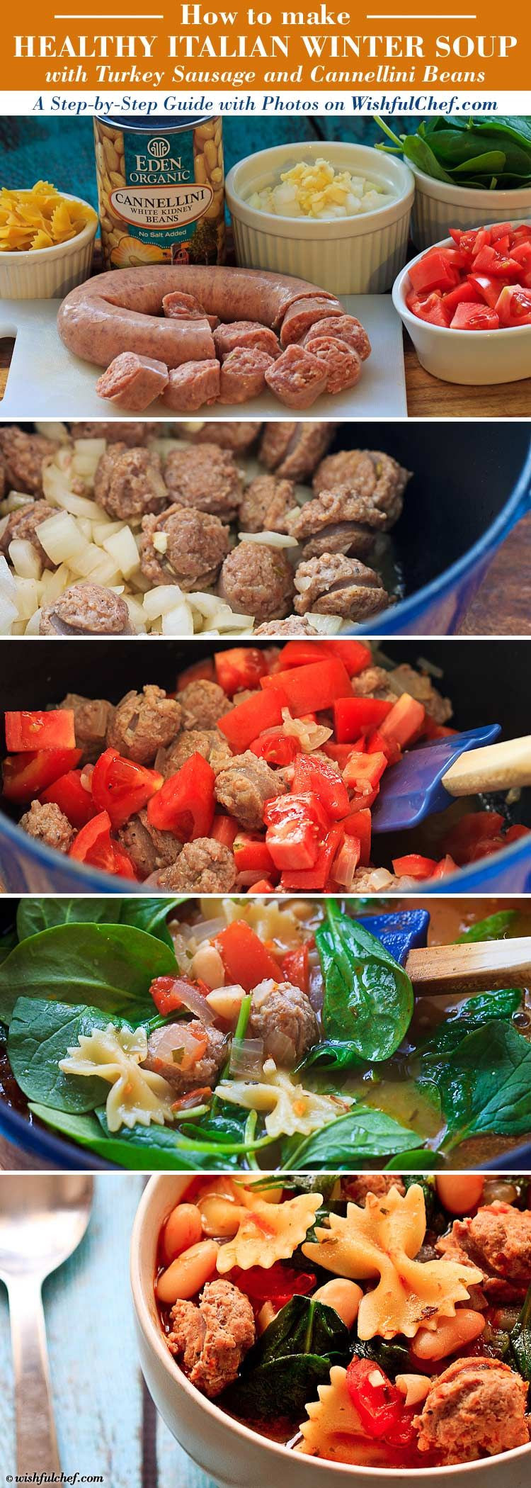 Italian Sausage Recipes Healthy  Healthy Italian Winter Soup with Turkey Sausage