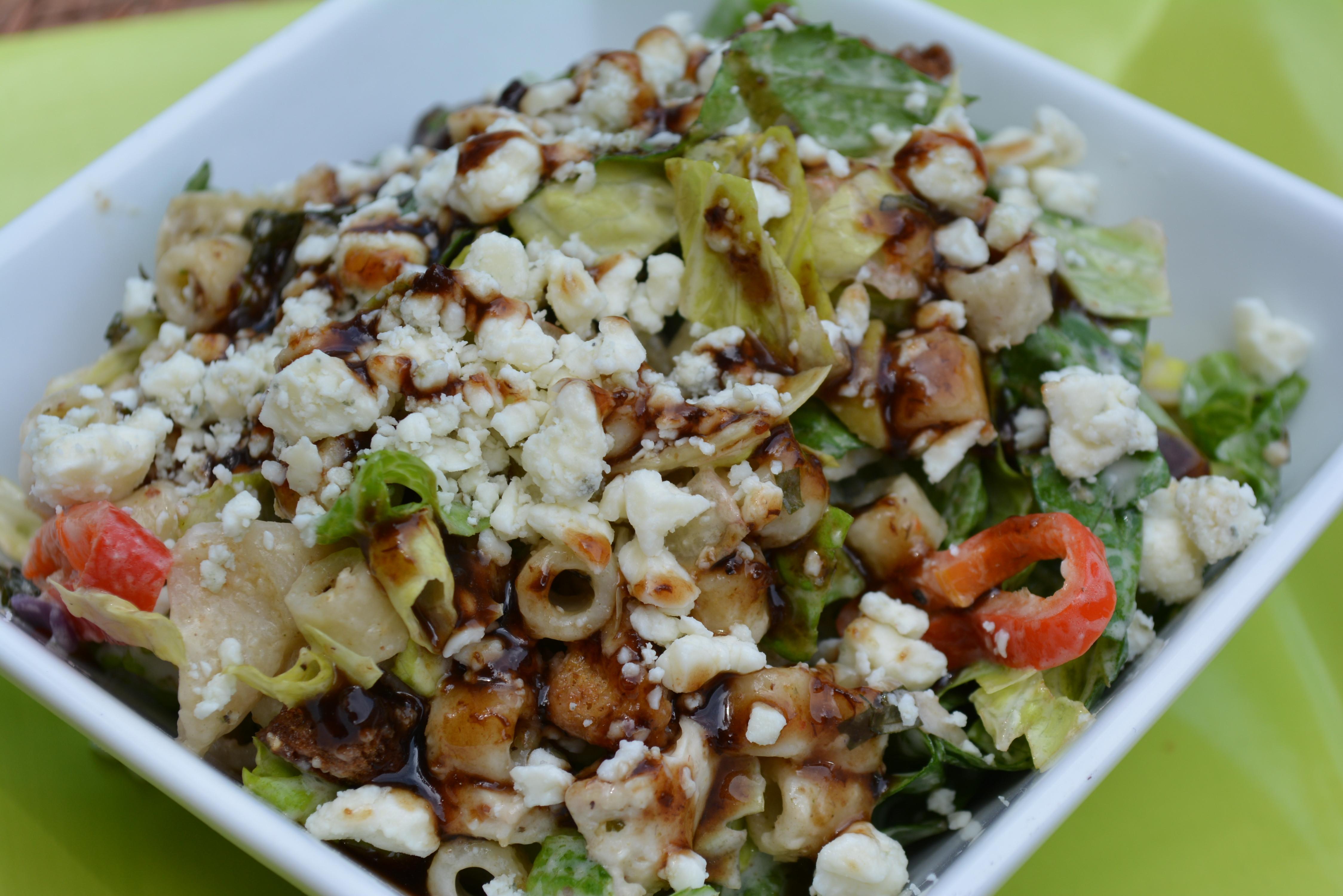 Italian Summer Salads  Italian Summer Salad with Fig Balsamic Glaze