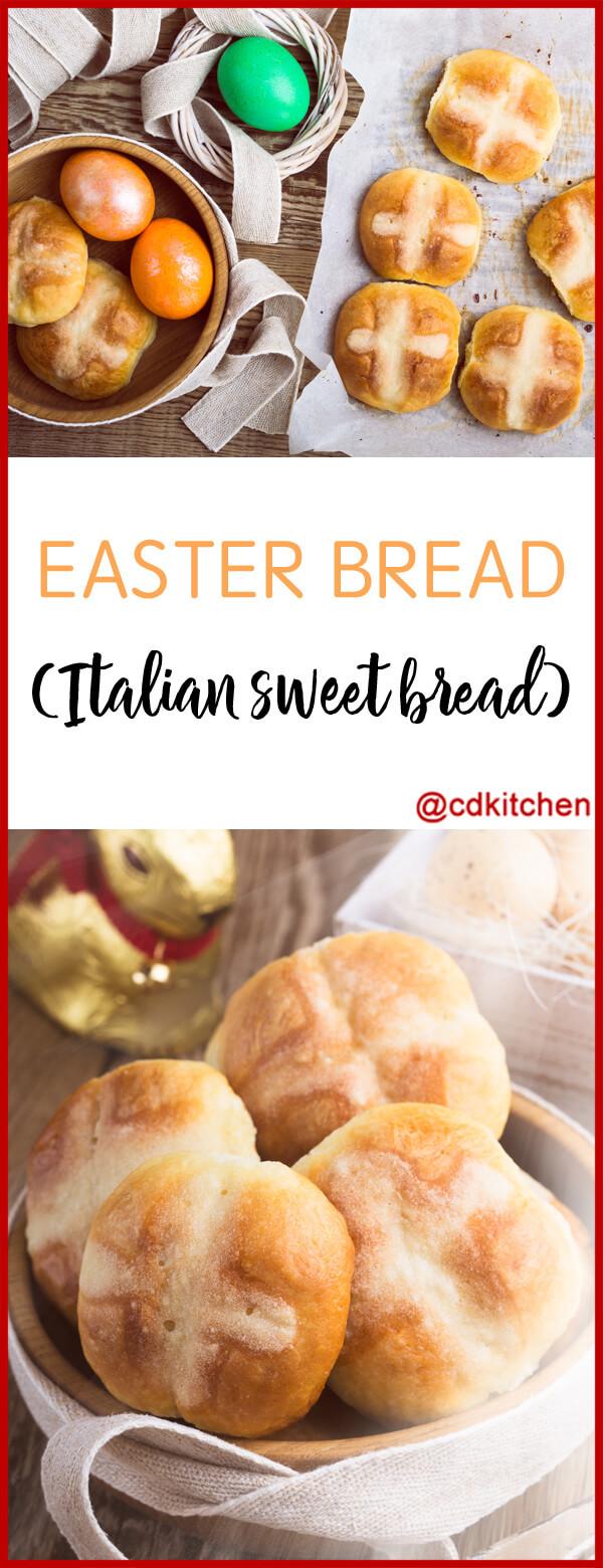 Italian Sweet Easter Bread Recipe  Easter Bread Italian Sweet Bread Recipe