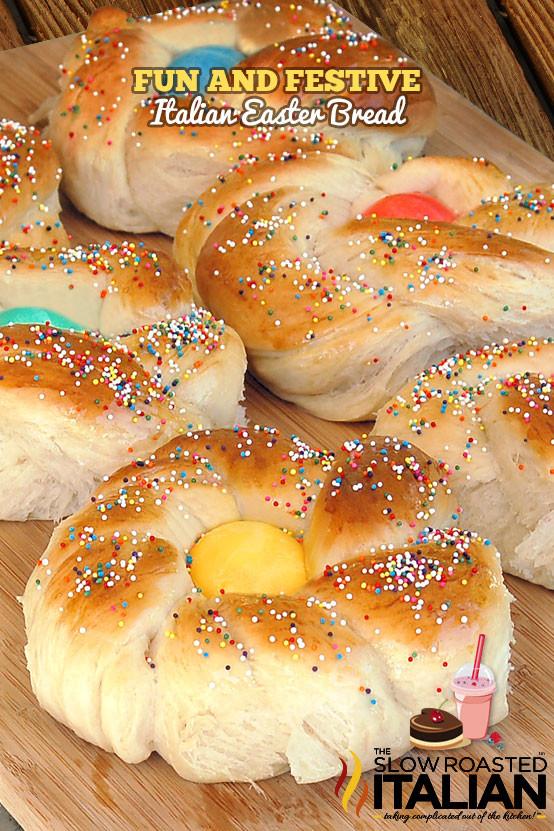 Italian Sweet Easter Bread Recipe  Italian Easter Bread