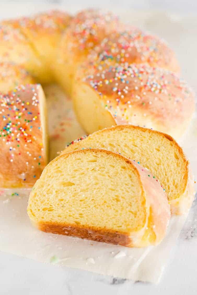 Italian Sweet Easter Bread Recipe  Italian Easter Bread Recipe