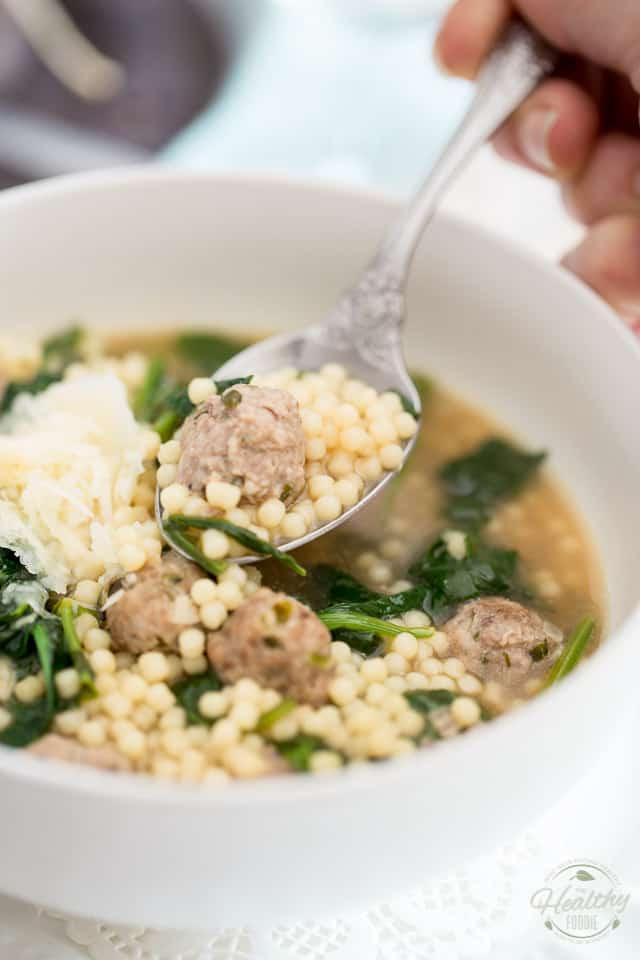 Italian Wedding Soup Noodles  Italian Wedding Soup • The Healthy Foo