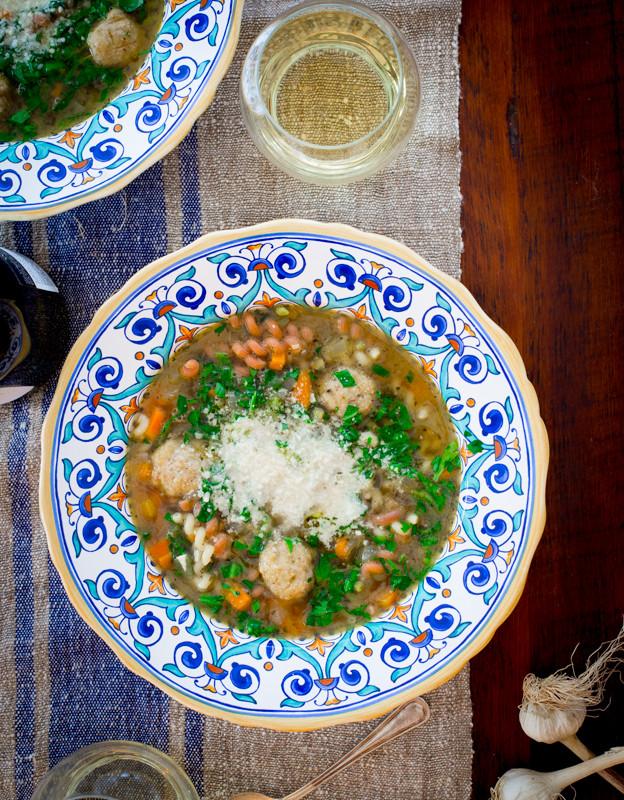 Italian Wedding Soup Noodles  chicken noodle italian wedding soup Healthy Seasonal Recipes