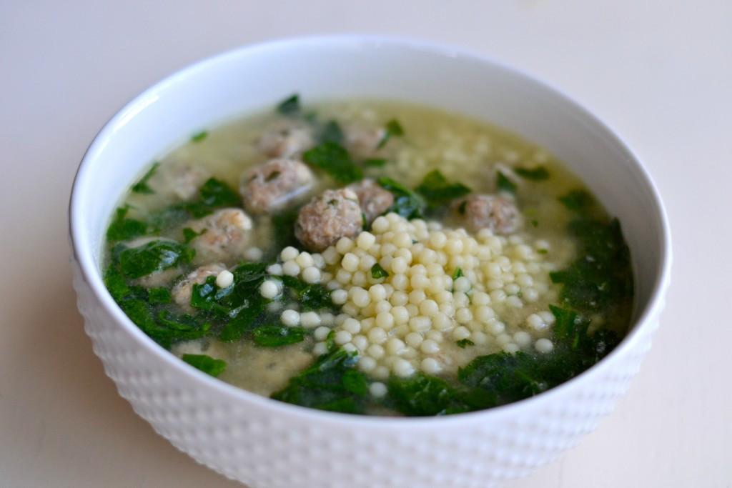 Italian Wedding Soup Noodles  BEST ITALIAN WEDDING SOUP EVER