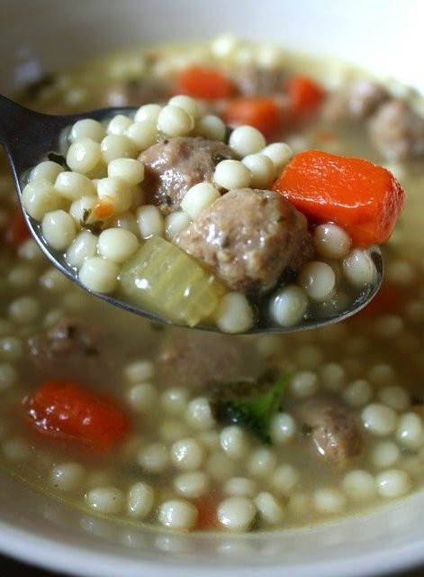 Italian Wedding Soup Noodles  The 99 Cent Chef Deal of the Day Italian Wedding Soup