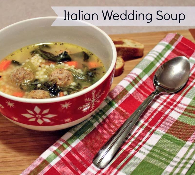 Italian Wedding Soup Recipes Easy  Easy Italian Wedding Soup
