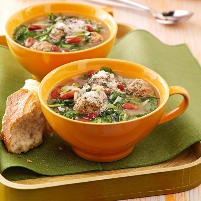 Italian Wedding Soup Recipes Easy  Easy Italian Wedding Soup Recipe