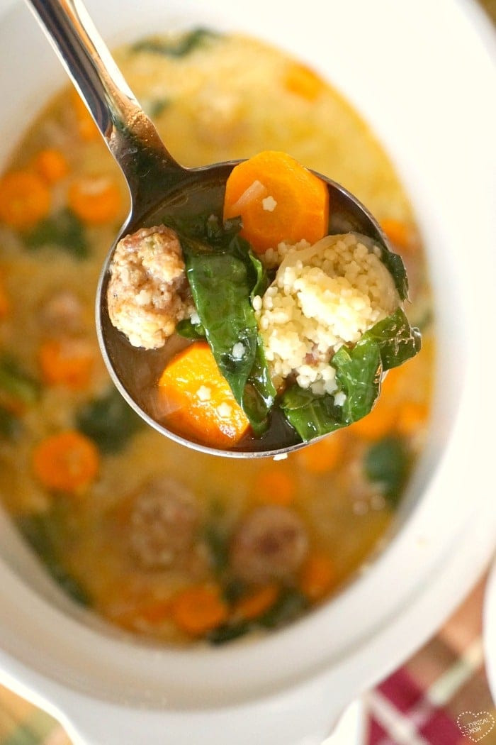 Italian Wedding Soup Recipes Easy  Easy Italian Wedding Soup Recipe · The Typical Mom