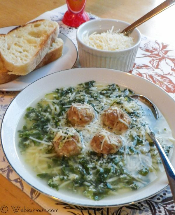 Italian Wedding Soup Recipes Easy  Easy Italian Wedding Soup SundaySupper