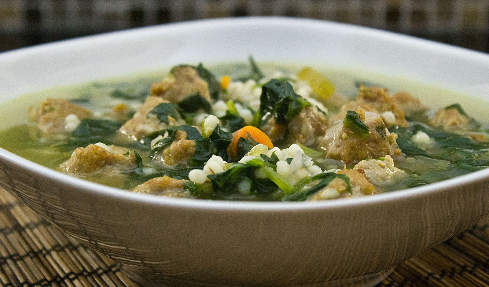 Italian Wedding Soup Recipes With Spinach  fabulous fridays Italian Wedding soup